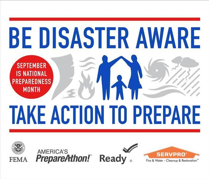 Community SERVPRO Offers Free Disaster Prep Tips Following National Preparedness Month