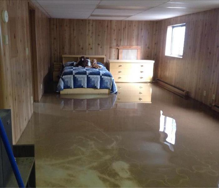 Water Damage Davis County Residents: We Specialize in Flooded Basement Cleanup and Restoration!